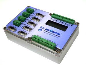 accQcomm™. Цифровой/Аналоговый интерфейсный модуль